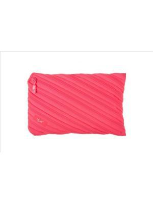 Пенал-сумочка NEON JUMBO POUCH, цвет розовый ZIPIT. Цвет: розовый