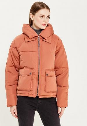 Куртка утепленная Numph. Цвет: коричневый
