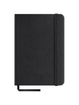 Записная книжка  Classic Velvet на резинке Office space. Цвет: черный