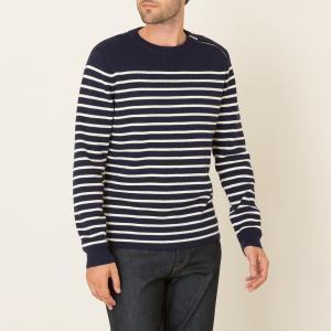 Пуловер в полоску THE KOOPLES SPORT. Цвет: темно-синий
