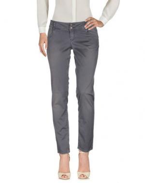 Повседневные брюки HEAVY PROJECT. Цвет: стальной серый