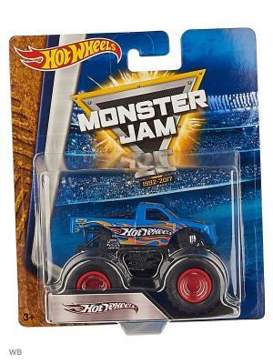 Машинки серии Monster Jam Hot Wheels. Цвет: синий, красный