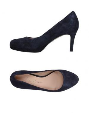 Туфли MARIAN. Цвет: темно-синий