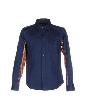 Pубашка UNDEFEATED. Цвет: темно-синий