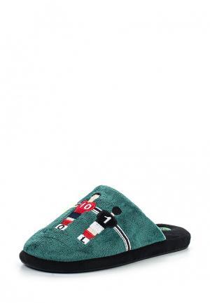 Тапочки Gioseppo. Цвет: зеленый
