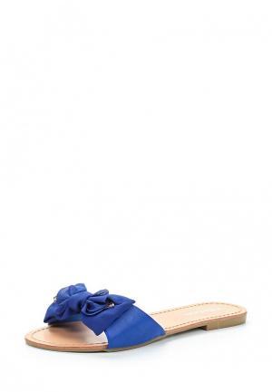 Шлепанцы Mada-Emme. Цвет: синий