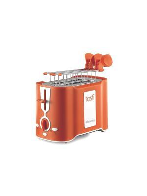 Тостер Ariete 124/11 TOASTY 500 Вт. Цвет: оранжевый