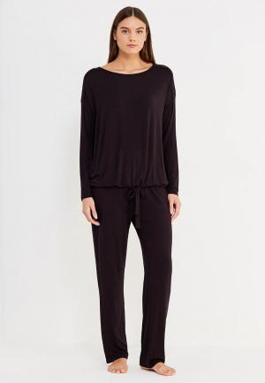 Пижама NYMOS. Цвет: черный