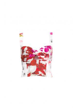 Топ из шелка 160347 Lolita Shonidi. Цвет: разноцветный