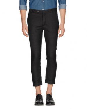 Повседневные брюки 26.7 TWENTYSIXSEVEN. Цвет: стальной серый