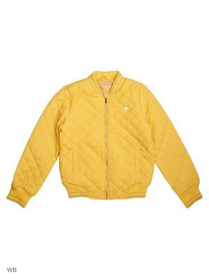 Бомбер S`Cool. Цвет: желтый
