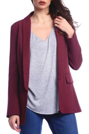 Жакет Emma Monti. Цвет: burgundy