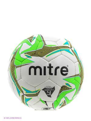Мячи футбольные MITRE. Цвет: серый, голубой, сиреневый, белый