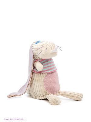 Игрушка Кролик Deglingos. Цвет: бежевый