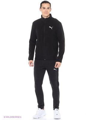 Кофта ESS Polarfleece Jacket Puma. Цвет: черный
