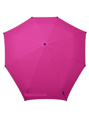 Зонт-автомат senz bright pink. Цвет: розовый