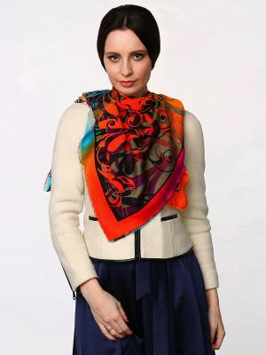 Платок Sophie Ramage. Цвет: оранжевый