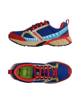Высокие кеды и кроссовки STRD BY VOLTA FOOTWEAR. Цвет: синий