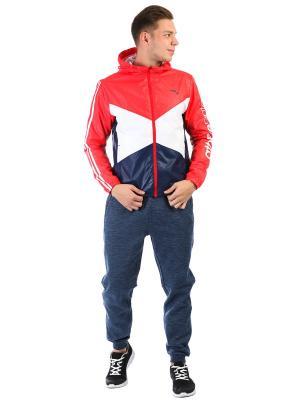 Куртка, ANTA. Цвет: красный