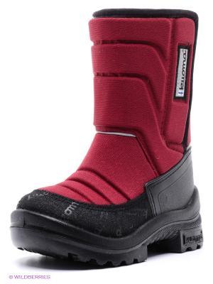Сапоги KUOMA. Цвет: бордовый, черный