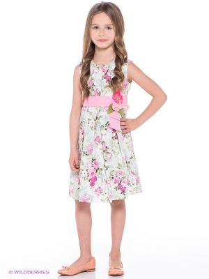 Платье Molly Rou. Цвет: светло-зеленый
