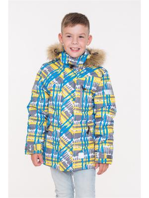 Куртка NIKASTYLE. Цвет: серый