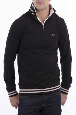 Джемпер POLO CLUB С.H.A.. Цвет: черный