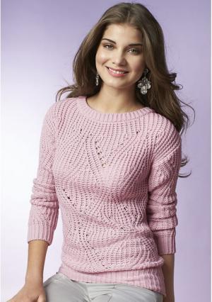 Пуловер Y.O.U.. Цвет: голубой, розовый