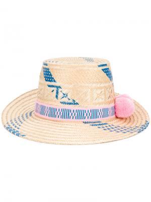 Шляпа Marea Yosuzi. Цвет: телесный