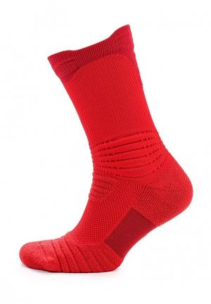 Носки Nike. Цвет: красный