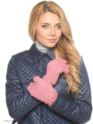 Перчатки Parfois. Цвет: розовый