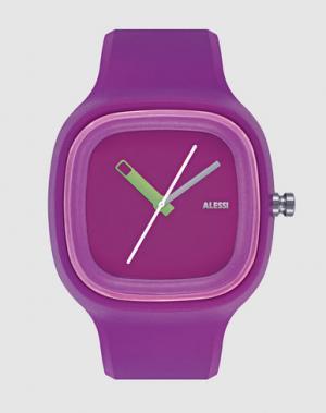 Наручные часы ALESSI. Цвет: фиолетовый