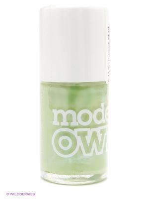 Лак для ногтей 14 мл, Shimmer, Edamame Models Own. Цвет: оливковый