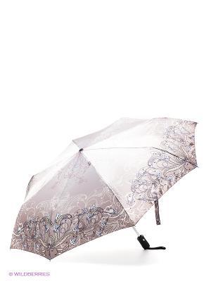 Зонт Eleganzza. Цвет: серо-коричневый