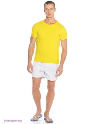 Футболка CMP. Цвет: желтый