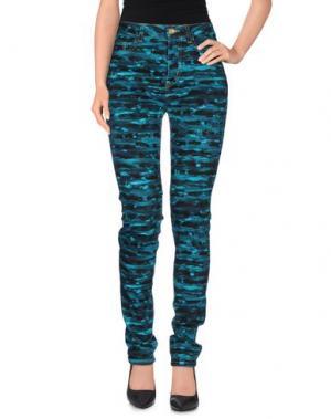 Джинсовые брюки CALLA. Цвет: цвет морской волны