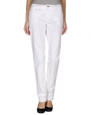 Повседневные брюки TRAMAROSSA. Цвет: белый