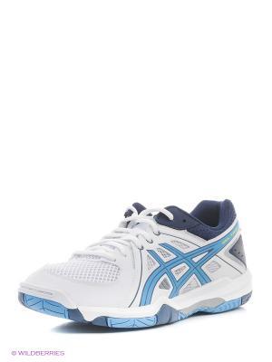 Спортивная обувь GEL-TASK ASICS. Цвет: белый, желтый, синий