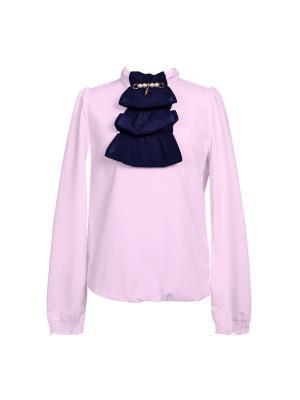 Блузка для девочки 7 одежек. Цвет: розовый