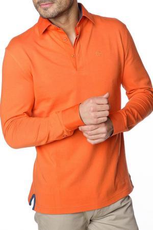 Polo shirt GAZOIL. Цвет: orange