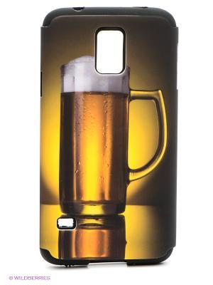 Чехол для Samsung S5 WB. Цвет: желтый, черный