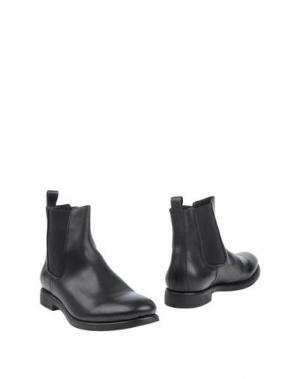 Полусапоги и высокие ботинки MENTOR. Цвет: черный