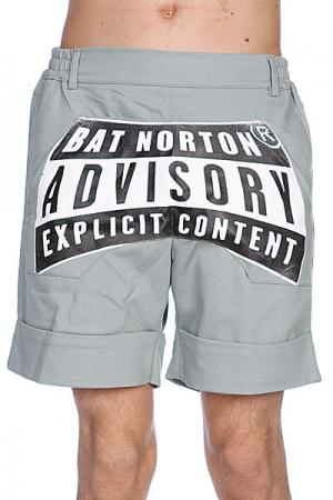Шорты  Unisex Advisory Grey Bat Norton. Цвет: серый