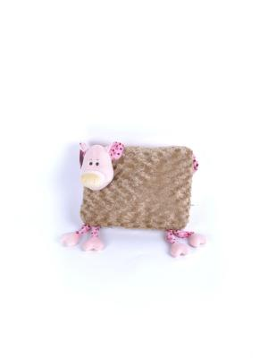 Мягкая игрушка Сестричка хрюшка 17.66.1 цвет розовый Malvina. Цвет: розовый