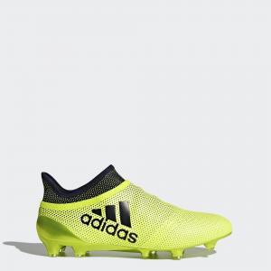 Футбольные бутсы X 17+ Purespeed FG  Performance adidas. Цвет: желтый