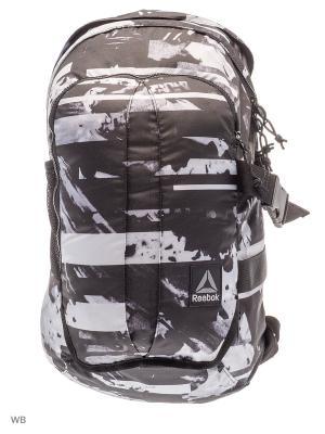 Рюкзак MOTION LAPTOP G BAC BLACK Reebok. Цвет: черный, серый