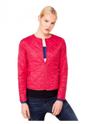 Куртка United Colors of Benetton. Цвет: фуксия
