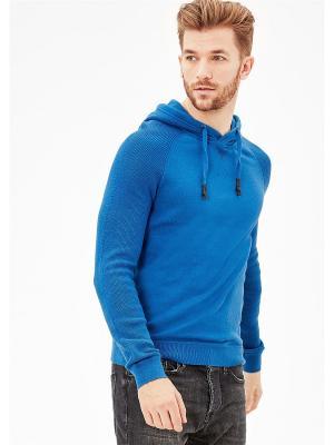 Худи S.OLIVER. Цвет: синий, лазурный