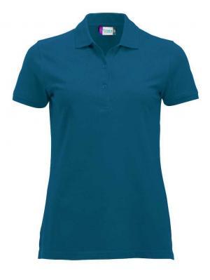 Футболки- поло Classic Marion Clique. Цвет: светло-голубой