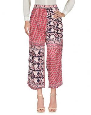 Повседневные брюки ZUCCA. Цвет: пурпурный